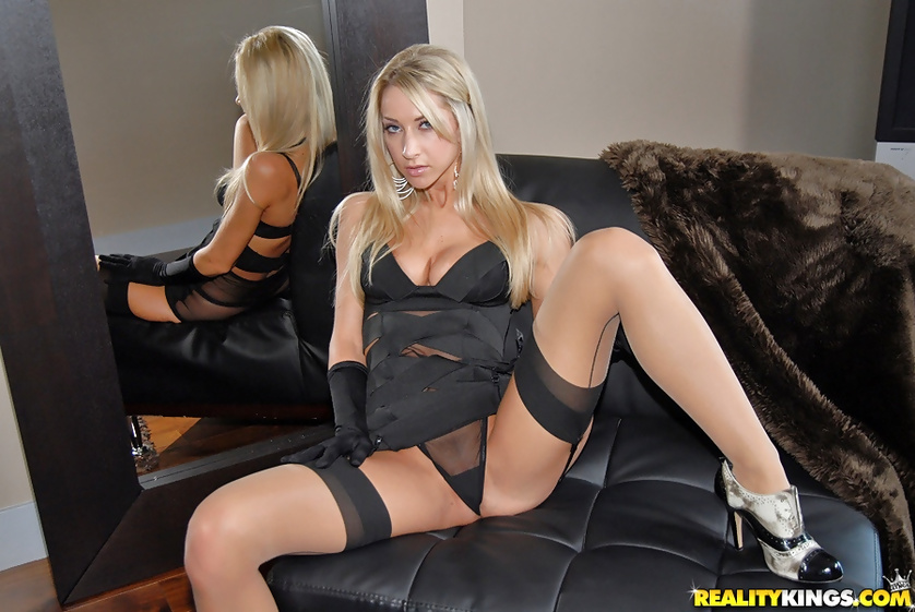 Hot babes stockings