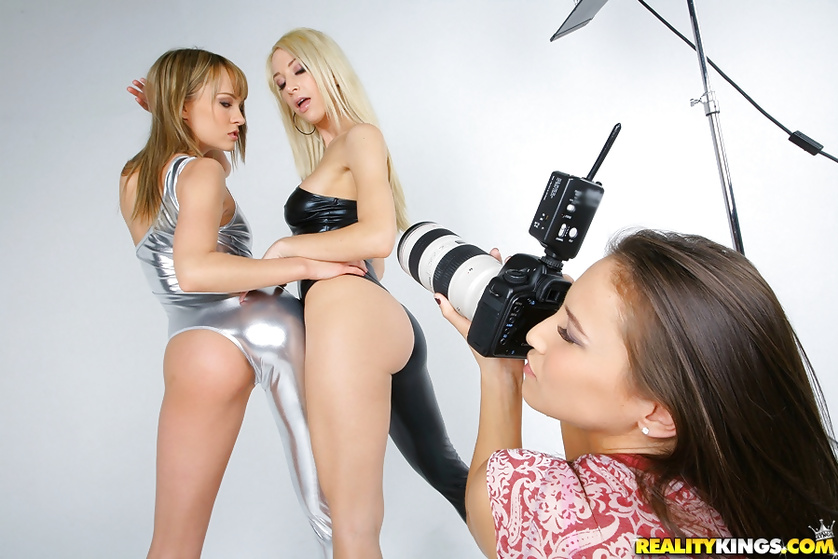 Lesbian Threesome Sex Toys