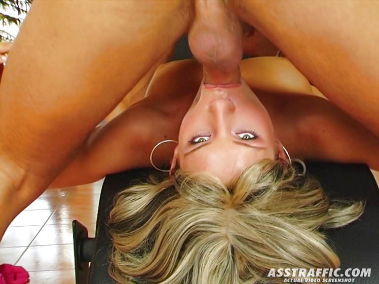 Young slut is going mad being banged in her ass