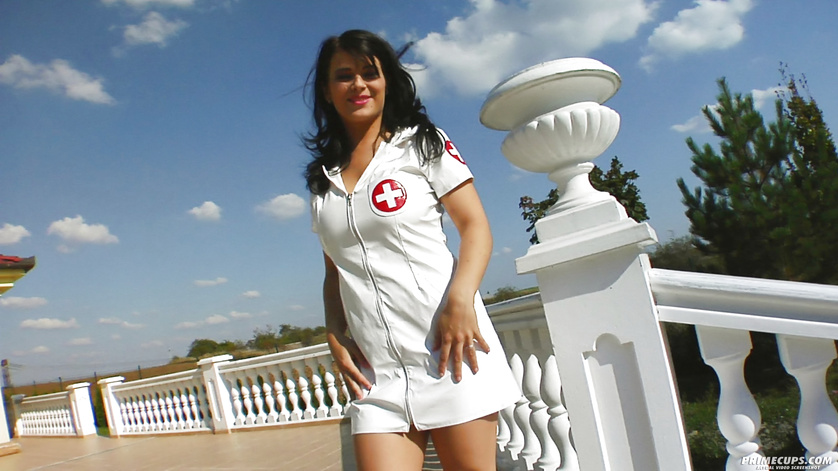 Great fuck session with nurse wearing sexy uniform