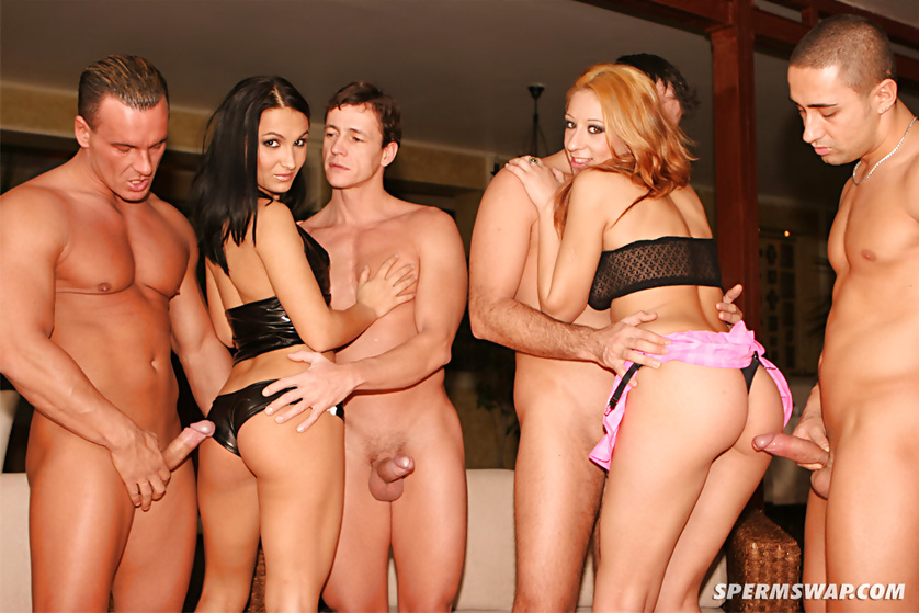 Join four passionate pornstars fucking wildly on camera