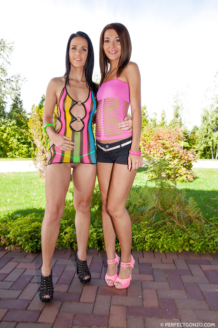 Horny girls are happy to be punished so hard