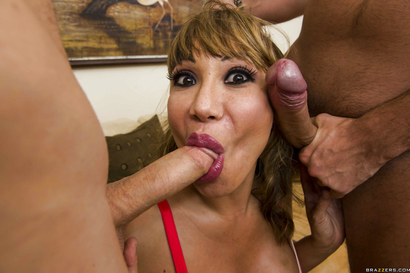 Shameless Latina MILF and her outstanding lust for hardcore anal