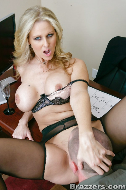 Tipsy blonde MILF fucked during an office Christmas party