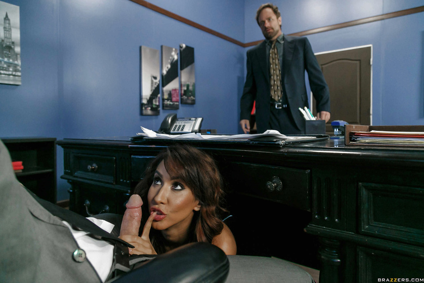 Is Isis Love the hottest, kinkiest secretary in the office?