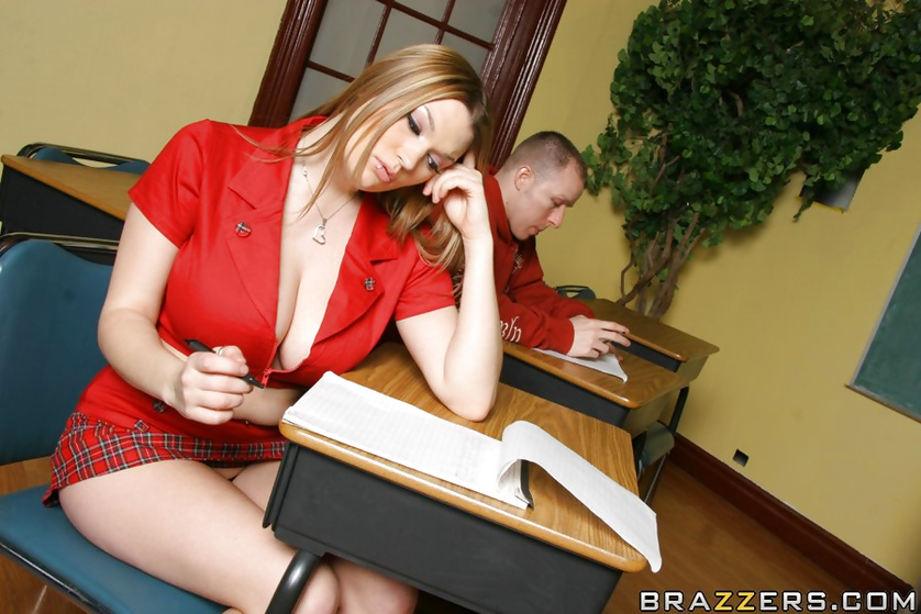 Subtle schoolgirl seductress lets a coed fuck her pussy