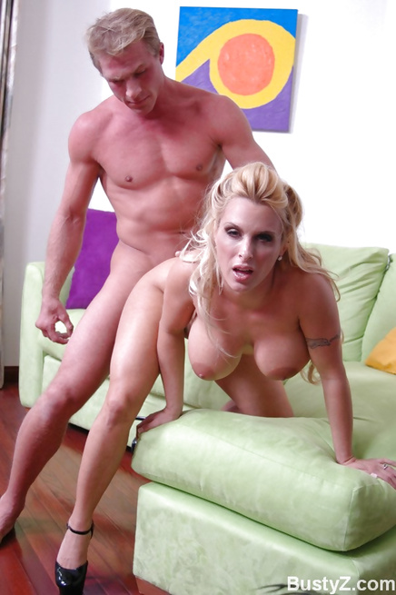 Hardcore hottie Holly Halston gets railed on all fours