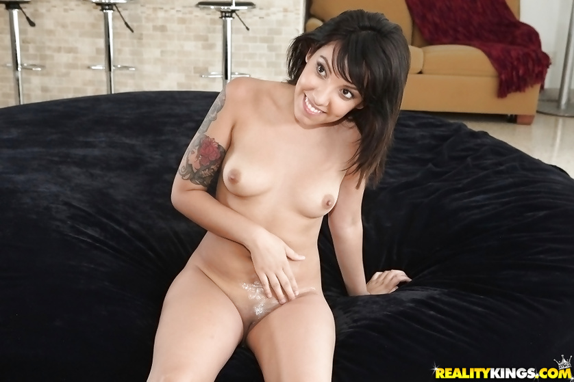 Wonderful lady is taking off dress and getting penetrated wildly