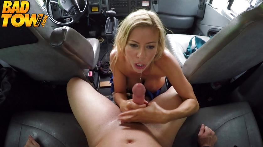 Busty MILF having big tits is fucking having no idea about hidden cams