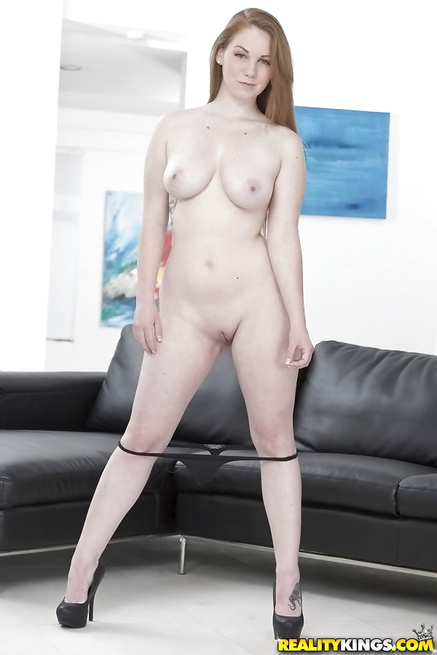 Beautiful model loves showing big tits on camera and fucking