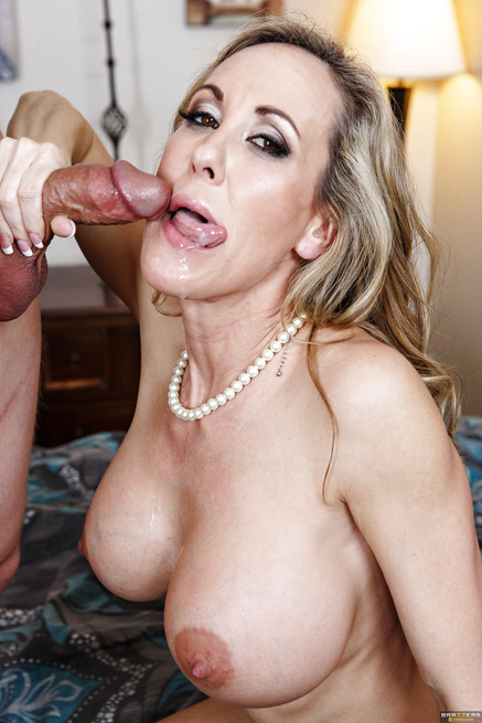 MILF is shocked by his behavior and aroused by his shyness