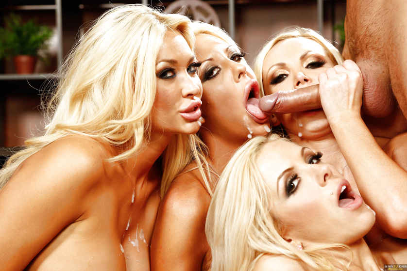 Courtney Taylor, Nikki Benz, and Nina Elle - ultimate seduction team