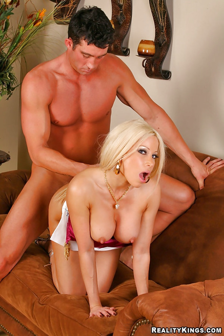 Hot guy finally gets to bang his beautiful secretary Gina Lynn