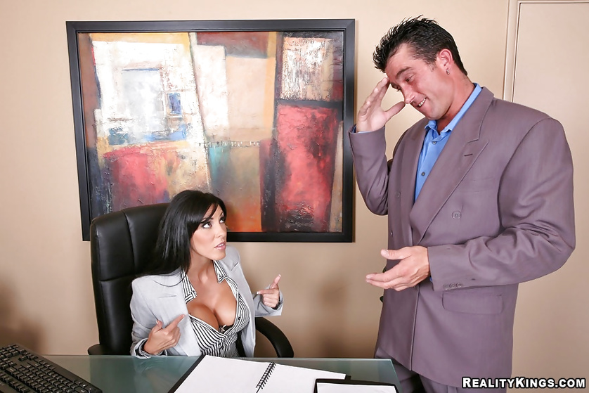 Office lady wants to get banged in the roughest manner possible