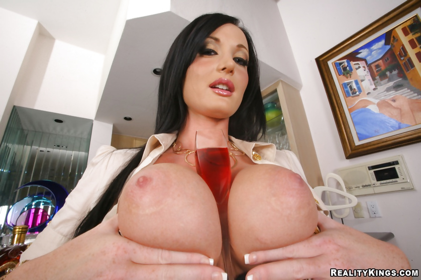 Ass fucking session featuring an extraordinary pornstar with big tits