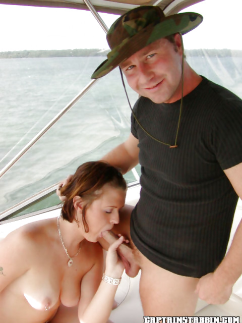 Captain gets to fuck two astonishing beauties on his yacht
