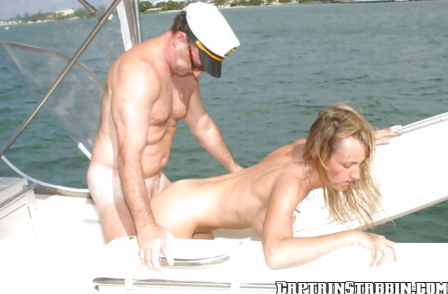 Astounding amateur agrees to have hardcore sex on the guys boat