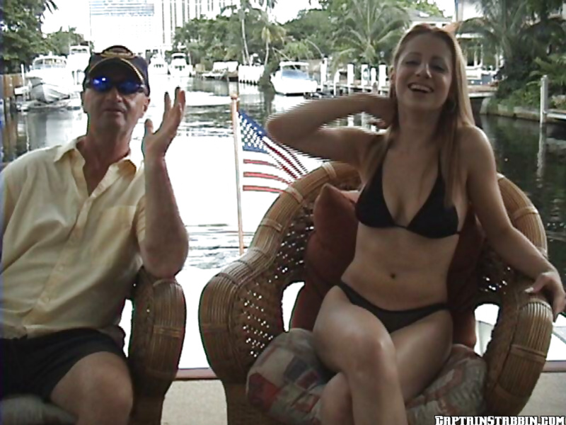 Threesome action featuring a wonderful amateur in a bikini