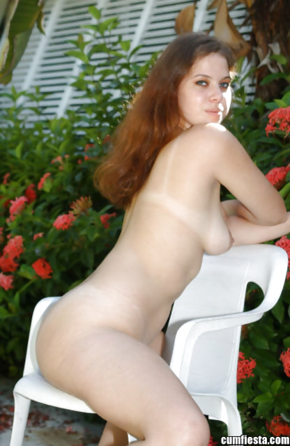 Busty redhead woman knows all the secrets of wild sex