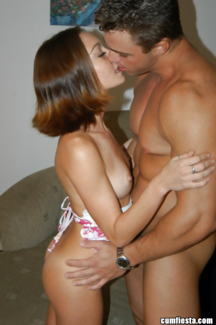 Wonderful young woman is enjoying extremely deep penetration
