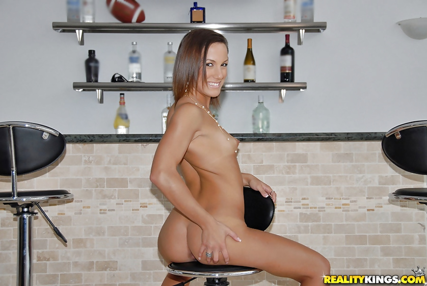 The horny bartender is always getting banged hard
