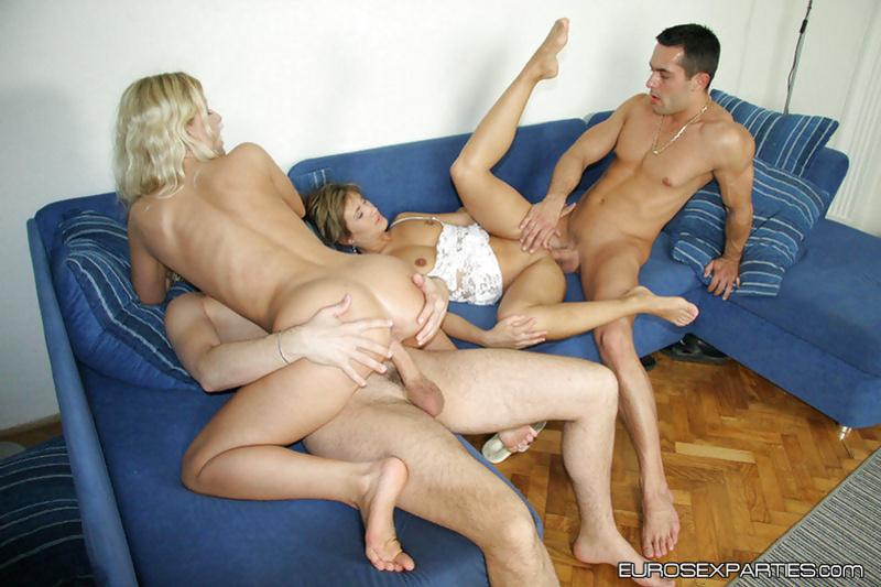 Ladies having natural tits are enjoying fantastic sex