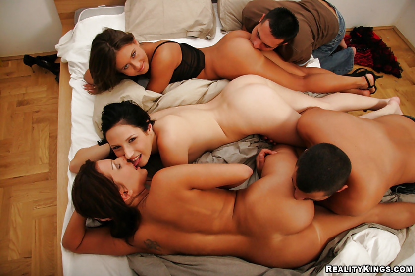 Have you ever visited extremely wild group sex party?