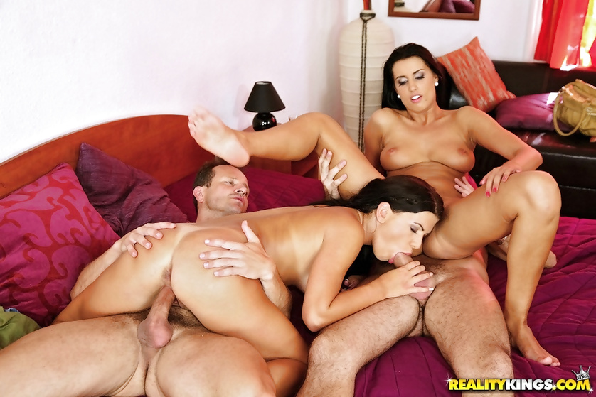 Beautiful brunettes want their partners to fuck them hard