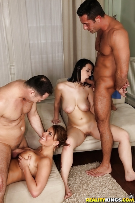 Horny brunettes can be fucking with great passion so long