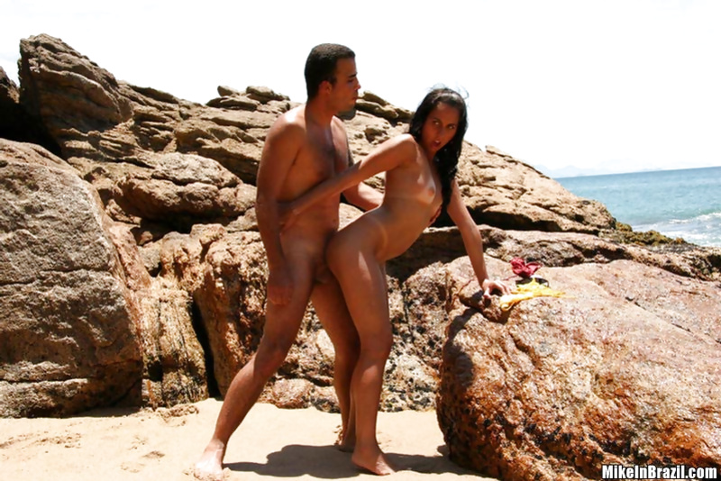 Wild beach is an excellent place for having great sex