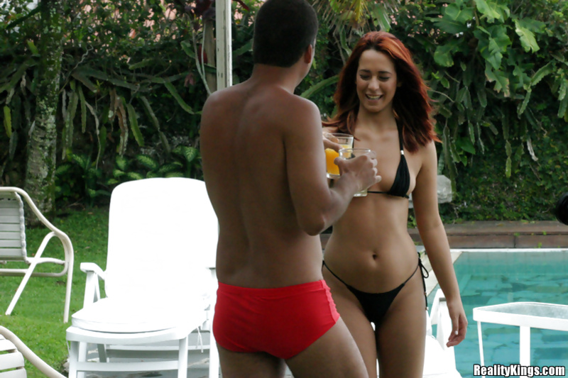 Redhead lady wants nothing else but this man's strong penis
