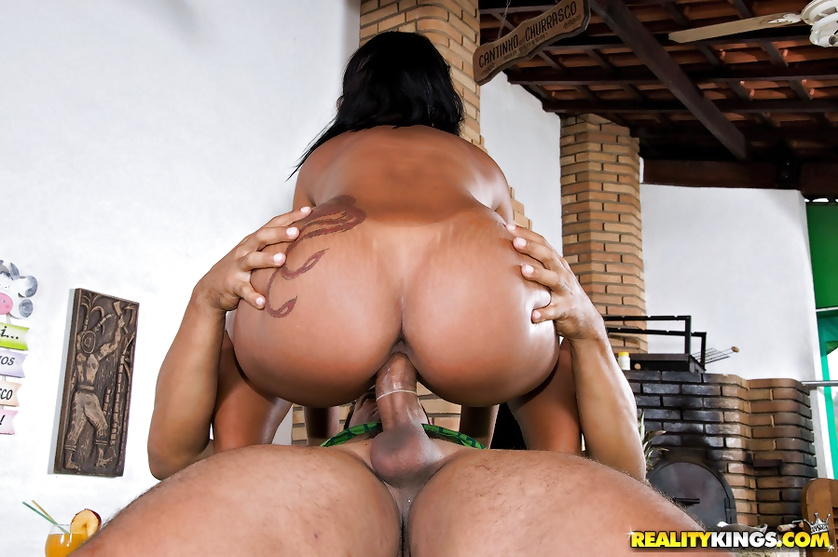 Awesome Latina woman is great at sucking and riding big penis