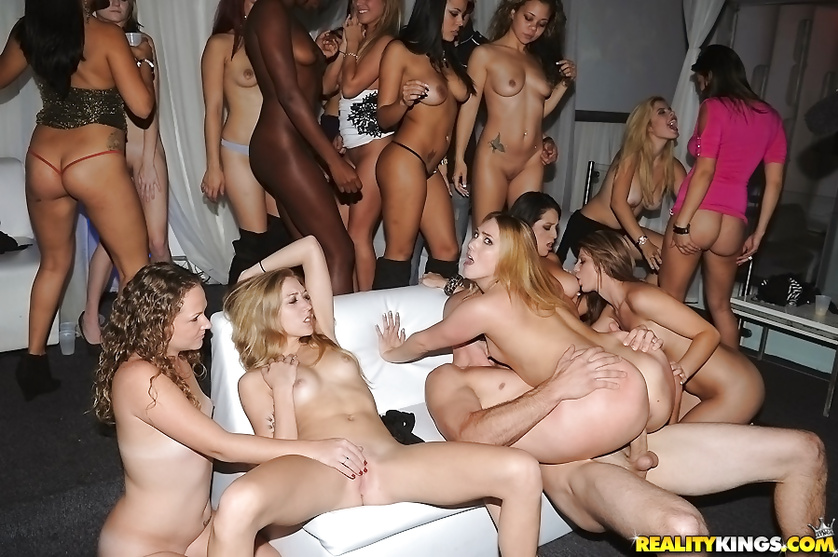 This sensational gangbang party will blow up your mind