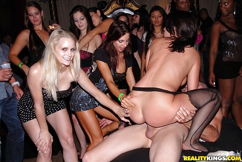 Awesome party in the club will show you what great passion is