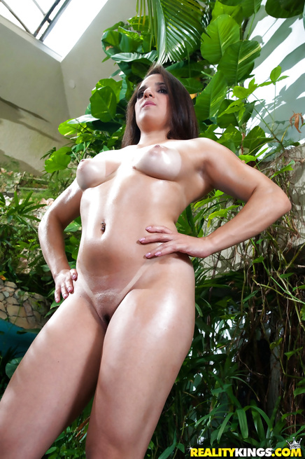 Ebony giant is penetrating lovely holes of this babe