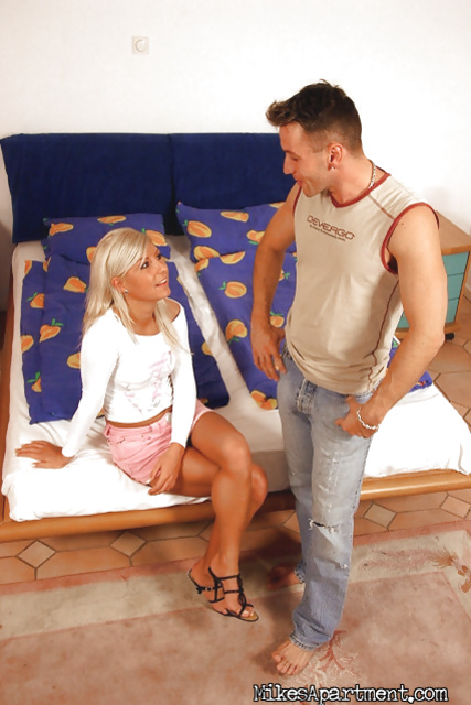 It is a pleasure for this guy to penetrate such a sweet angel
