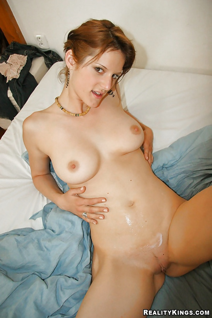 Kiss her gently and penetrate her sweet holes deep