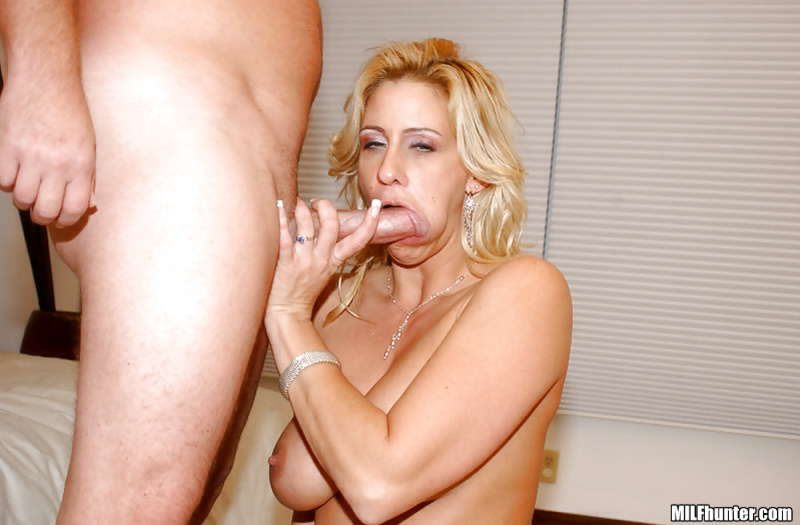 Wild blonde is riding strong cock of her partner