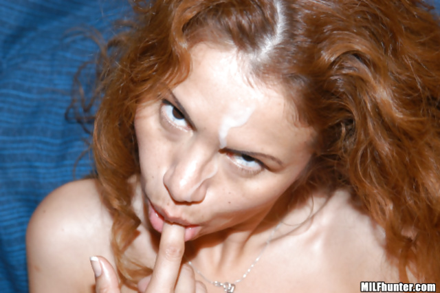 Man loves slapping and fucking sweet redhead lady