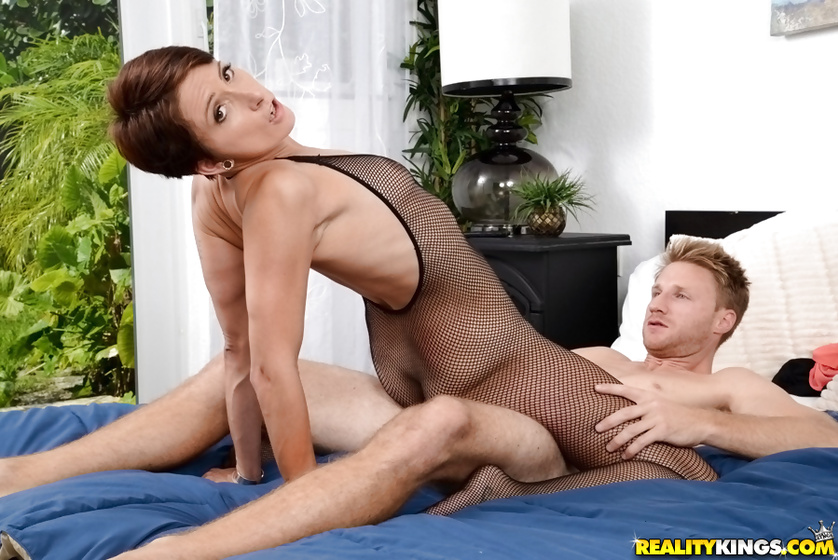 These partners are trying some crazy tricks including footjob