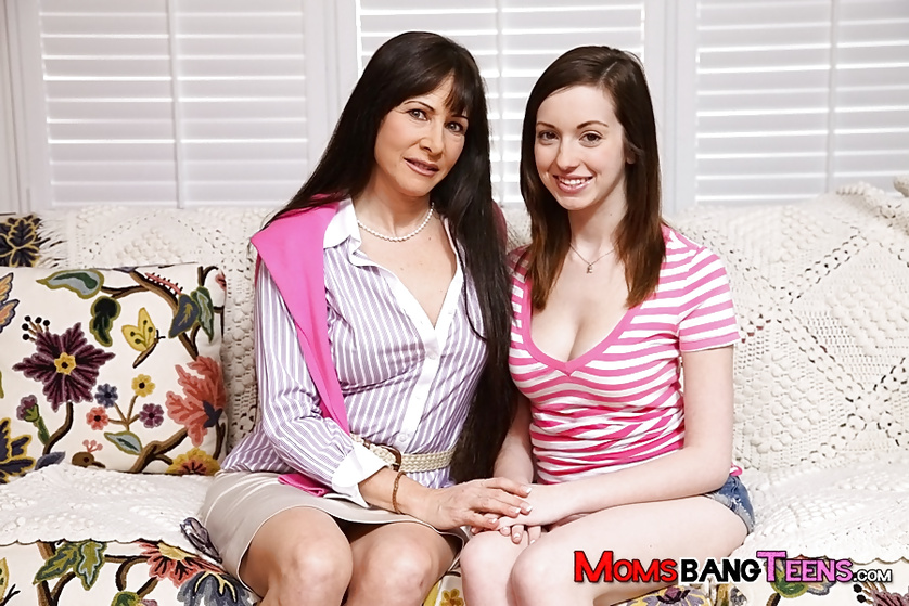 Lovely MILF is fucking with teen partners wildly