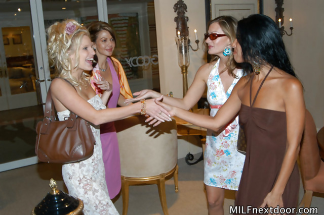 Wonderful women are chatting and fucking with pleasure