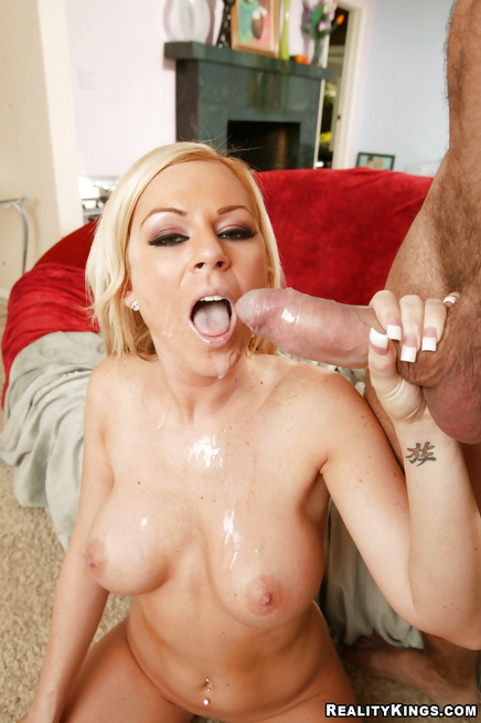 Lovely MILF is showing striptease and wild fuck skills