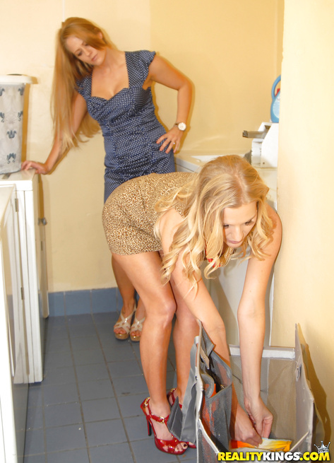 Kinky housewives are fucking with great excitement