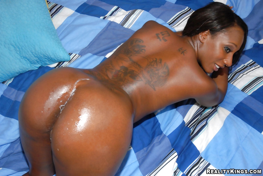 Her skin is ebony and her sex skills are great