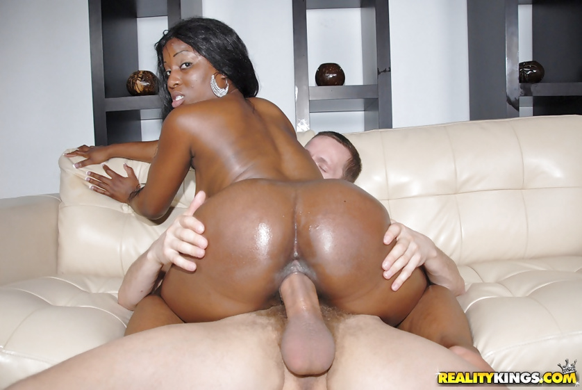 He is glad to push his cock into her wet holes