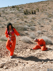Join passionate prisoners fucking wildly in the big room. They are taking off their orange uniform and demonstrating their fuck skills.
