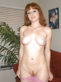 Lovely redhead slut is fucking with her partner wildly. She is a real filthy MILF you've just seen in the porn movies earlier.