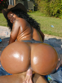 These lovely chocolate women are deeply in love with hardcore anal fuck. They are also ready to show blowjob and cock riding skills.