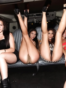 You have to be ready to arrive at the hottest orgy ever. There are so many naked ladies in this club, and they are all happy to fuck.
